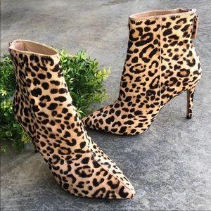 Steve Madden Carey Leopard Genuine calf hair
